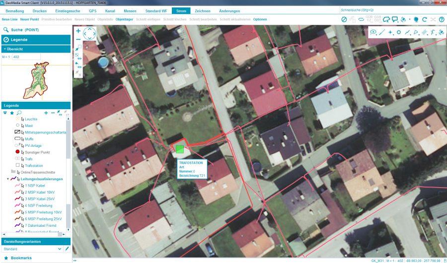 Luftaufnahme Brixental Vermessung
