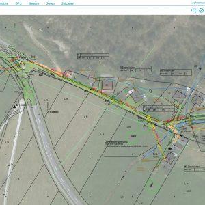 Screenshot-CAD Daten