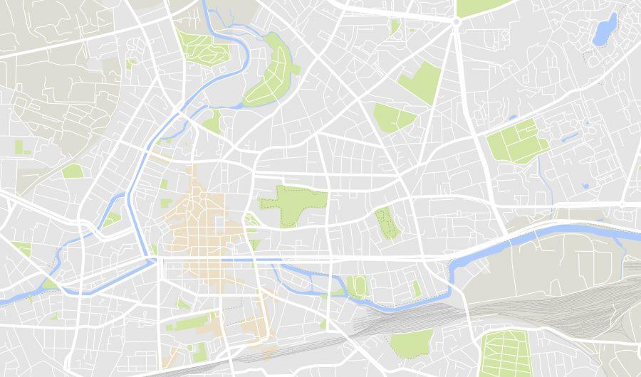 Stadtplan Karte