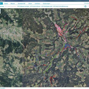 Flugaufnahme Plan Brixental