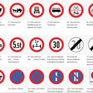 Verkehrszeichen-Bild